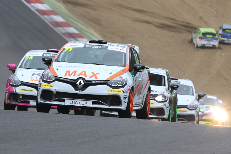 Coates Was Straight Into The Thick Of The Action At Brands Hatch - Credit: Jakob Ebrey Photography