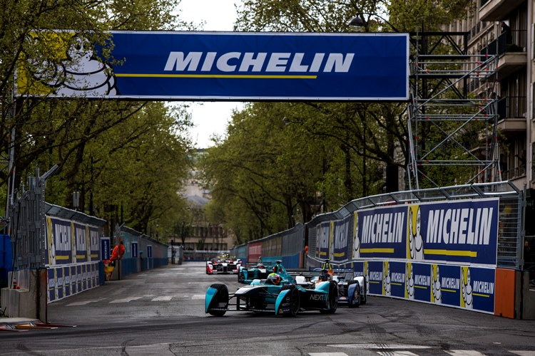 2015/2016 FIA Formula E Championship. Paris ePrix, Paris, France. Saturday 23 April 2016.  Photo: Zak Mauger/LAT/Formula E ref: Digital Image _79P8982