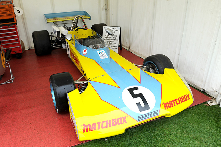 Mike Hailwood Surtees TS10 Formula 2 Car