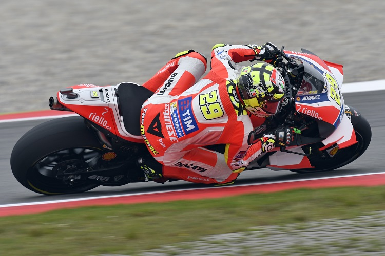 Andrea Iannone - Photo Credit: Ducati