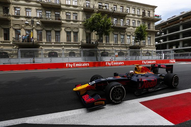 Pierre Gasly - Credit: Sam Bloxham/GP2 Series Media Service
