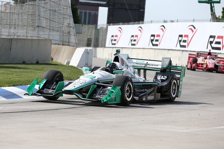Simon Pagenaud - Credit: Bret Kelley / IndyCar
