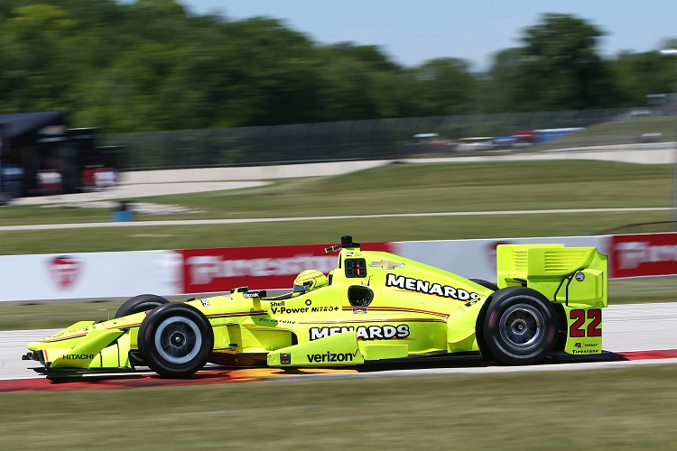 Simon Pagenaud - Credit: Chris Jones / IndyCar