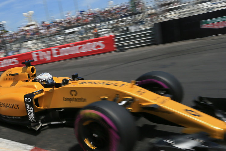 World © Octane Photographic Ltd. Renault Sport F1 Team RS16 - Kevin Magnussen. Saturday 28th May 2016, F1 Monaco GP Qualifying, Monaco, Monte Carlo - Credit: Octane Photographic Ltd