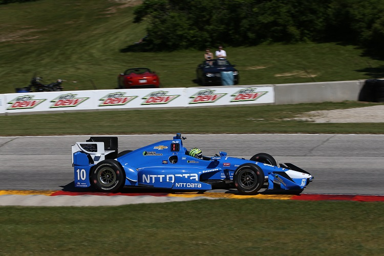 Tony Kanaan - Credit: Chris Jones / IndyCar