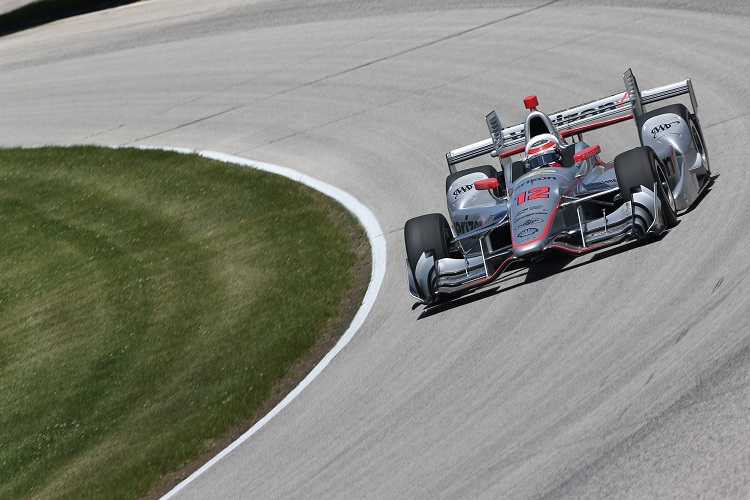 Will Power - Credit: Joe Skibinski / IndyCar