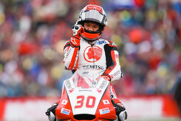 Takaaki Nakagami - Photo Credit: MotoGP.com