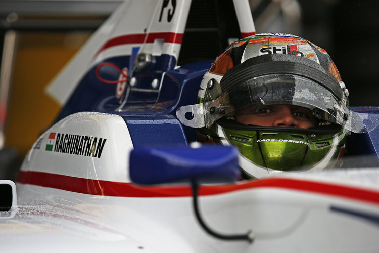 2016 GP3 Series Round 1 Circuit de Catalunya, Barcelona, Spain. Friday 13 May 2016. Mahaveer Raghunathan (IND, Koiranen GP)  Photo: Sam Bloxham/GP3 Series Media Service. ref: Digital Image _L4R7940