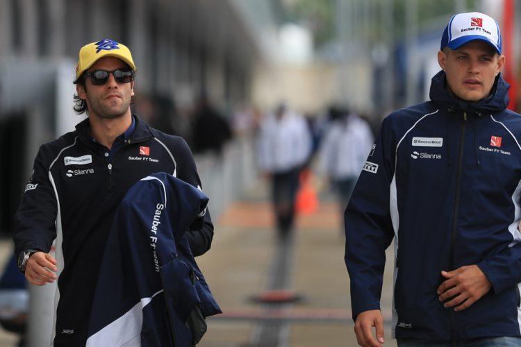 Felipe Nasr and Marcus Ericsson - Credit: Octane Photographic Ltd