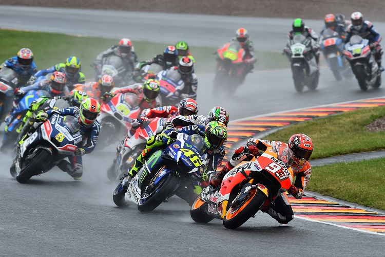 Marc Marquez (no.93) - Photo Credit: Michelin