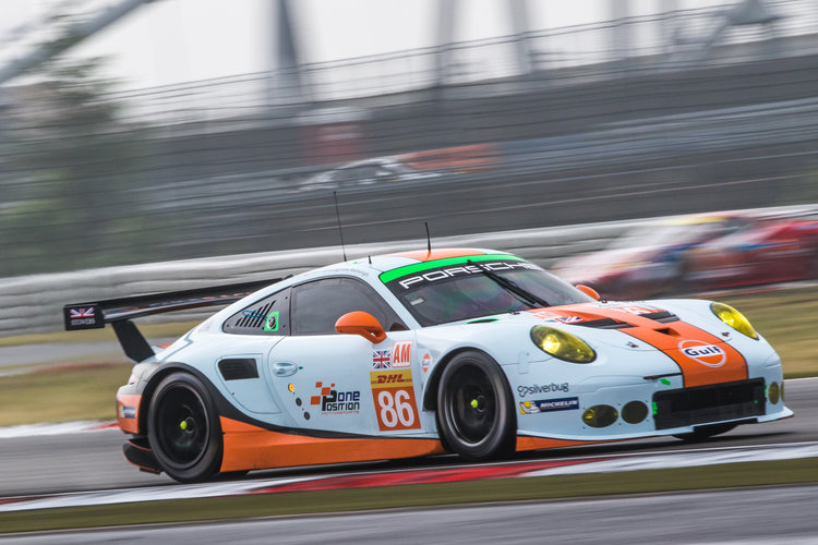 Car # 86 / GULF RACING / GBR / Porsche 911 RSR - WEC 6 Hours of Nurburgring - Nurburgring - Nurburg - Germany