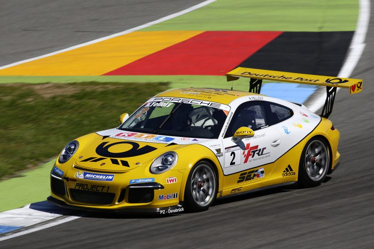 Yelloly makes his Supercup debut. (Credit: Porsche AG)
