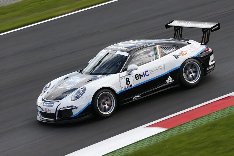 Cullen was sixth last time out. (Credit: Porsche AG)