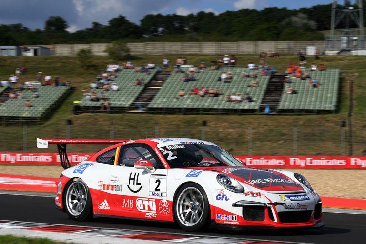 Porsche Mobil 1 Supercup Budapest 2016 Sven Müller (D)
