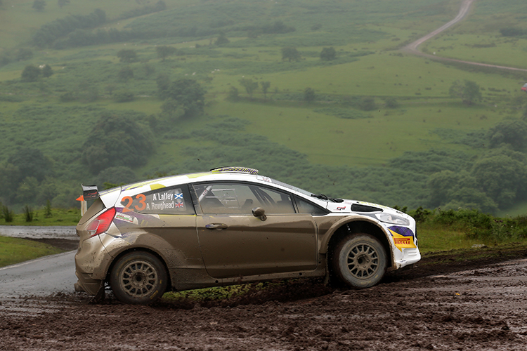 Alex Laffey / Andrew Roughead Ford Fiesta R5 CA1 Sport Nicky Grist Stages