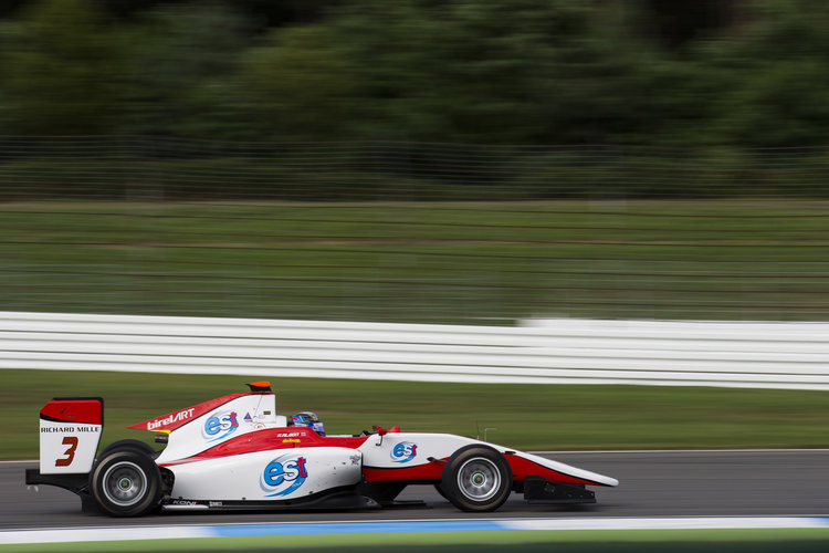 2016 GP3 Series Round 5 Hockenheimring, Hockenheim, Germany Friday 29 July 2016. Alexander Albon (THA, ART Grand Prix)  Photo: Sam Bloxham/GP3 Series Media Service. ref: Digital Image _SLA0672