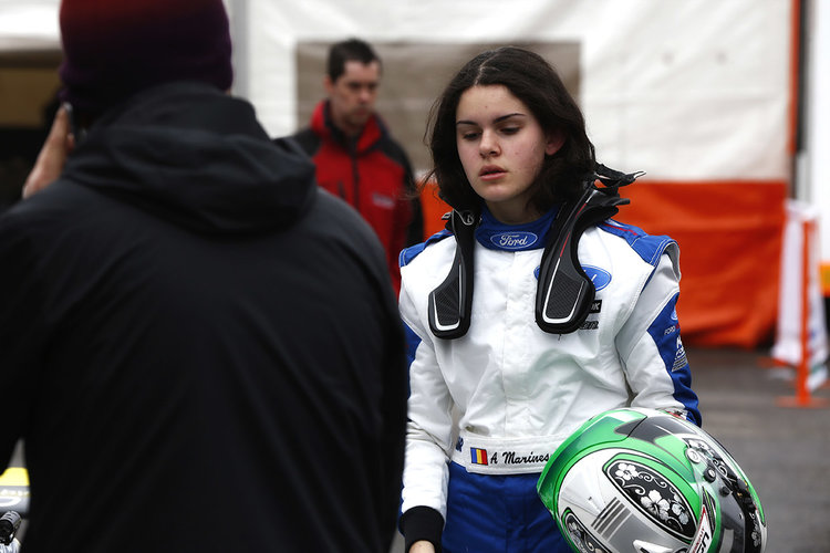 Alexandra Marinescu (ROU) Falcon Motorsport  Credit: MSA Formula