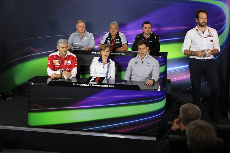 British Grand Prix Friday Press Conference - Credit: Octane Photographic Ltd