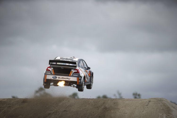 Bucky Lasek gave Subaru their first final spot of the season - Credit: Larry Chen/Red Bull Global Rallycross