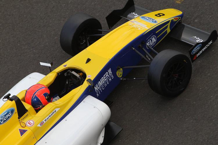 Darius Karbaley (GBR) Falcon Motorsport MSA Formula