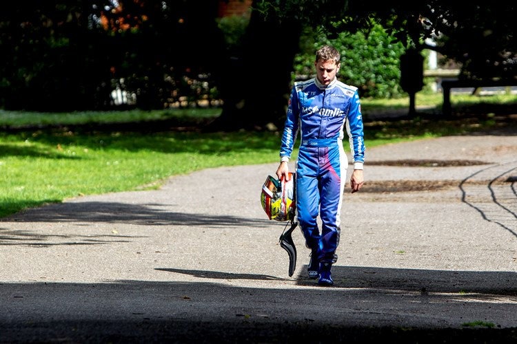 2015/2016 FIA Formula E Championship. London ePrix, Battersea Park, London, United Kingdom. Sunday 3 July 2016. Robin Frijns (NLD), Andretti - Spark SRT_01E Photo: Zak Mauger/LAT/Formula E ref: Digital Image _A8C9578