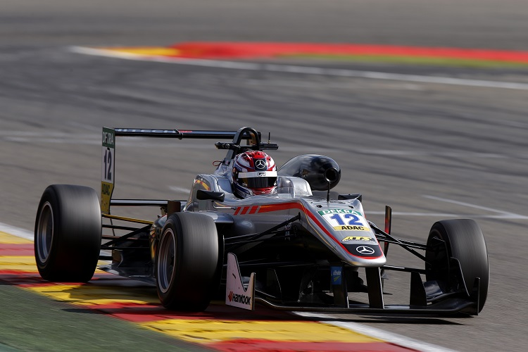 George Russell - Credit: FIA Formula 3 European Championship / Thomas Suer