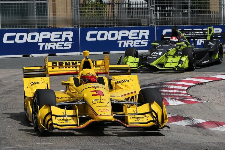Helio Castroneves - Credit: Chris Jones / IndyCar