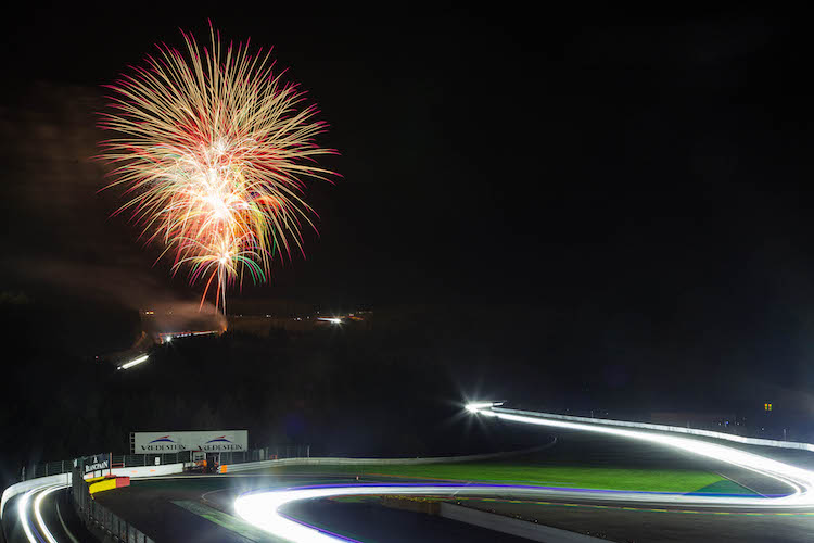 Fireworks 2016 Spa 24 Hours