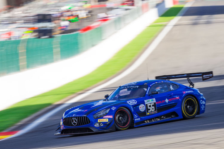 Black Falcon claimed pole position in the Pro-Am Cup (Credit: Craig Robertson/Racephotography.net)