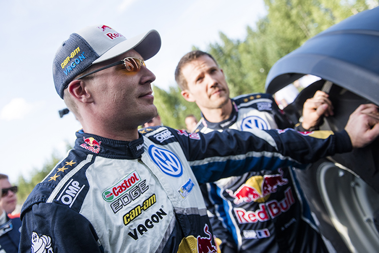 Jari-Matti Latvala VW WRC Rally Finland 2016