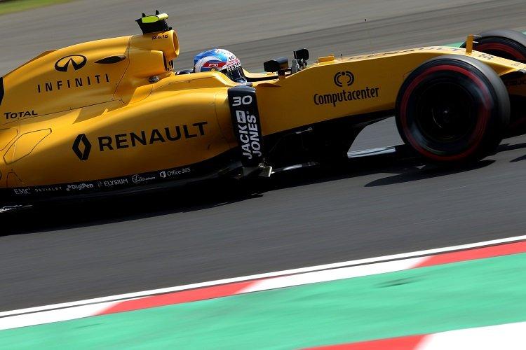Jolyon Palmer - Credit: Renault Sport F1
