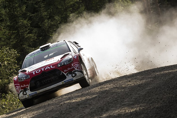 Kris Meeke 2016 Rally Finland Day 1 ABDWRT