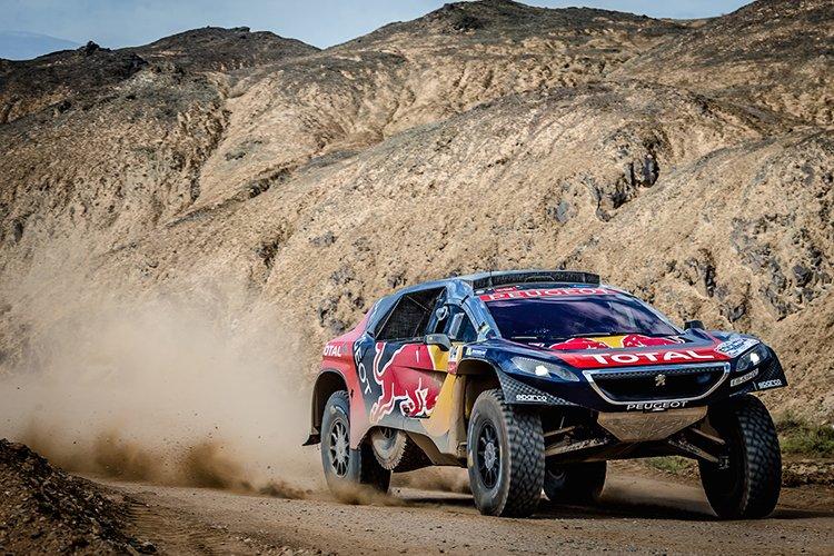 Leg 12 2016 Silk Way Rally Cyril Despres - David Castera Team Peugeot-Total 2008 DKR