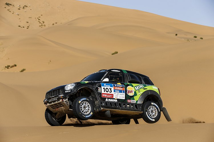 MINI All4 Racing 2016 Silk Way Rally Leg 13