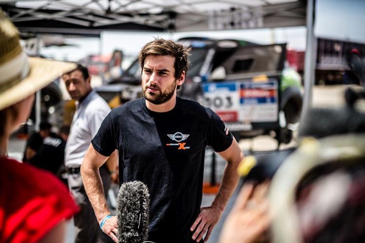 MINI's Harry Hunt 2016 Silk Way Rally MINI All4 Racing