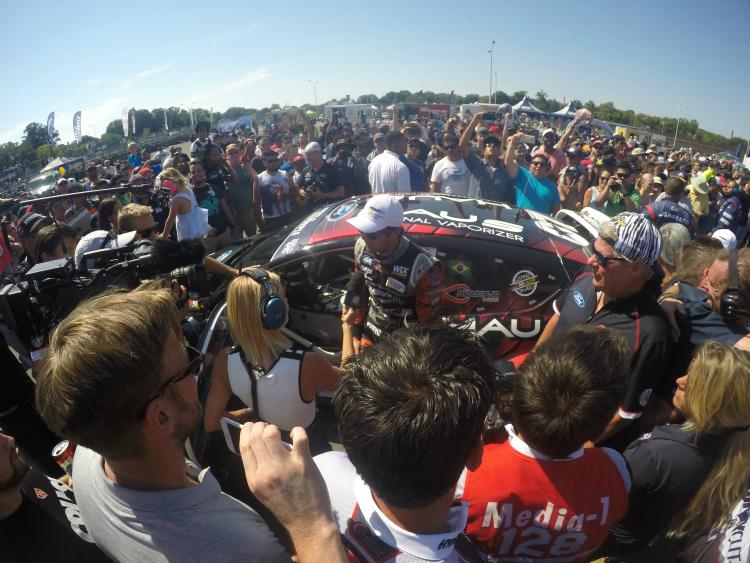 Nelson Piquet Jr. won in Washington DC in 2015 - Credit: Dominik Wilde/Red Bull GRC