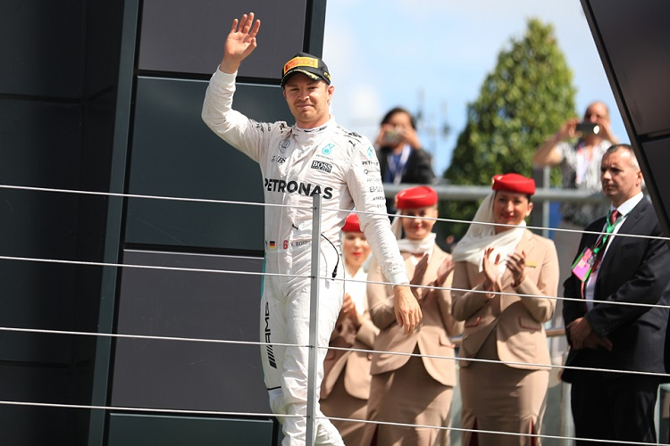 Nico Rosberg - Credit: Octane Photographic Ltd