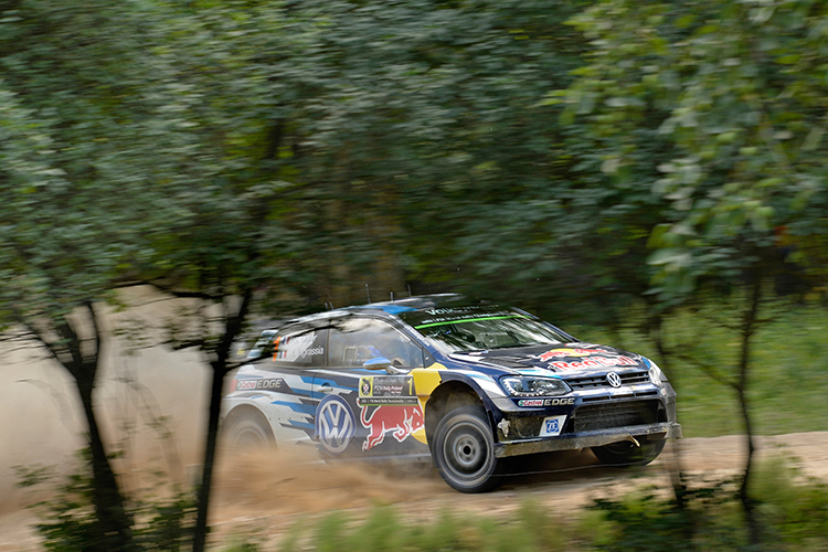 Rally Poland 2016 Ogier - Ingrassia Volkswagen Motorsport