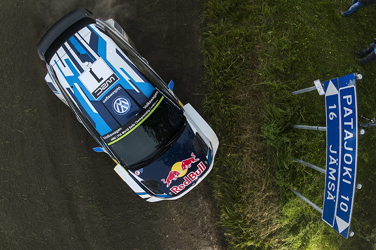 Rally Finland 2016 Overhead Shot VW