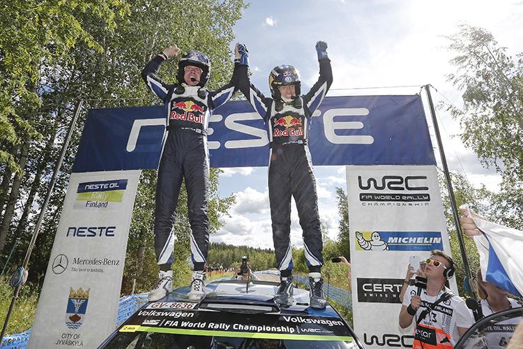 Rally Finland 2015 Volkswagen Motorsport