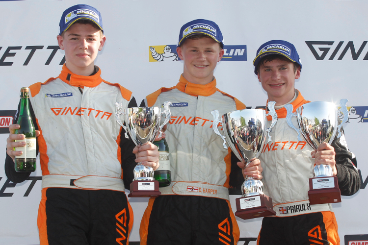 From L to R: Gamble, Harper And Priaulx Have Been The Standout Rookies So Far - Credit: Jakob Ebrey Photography