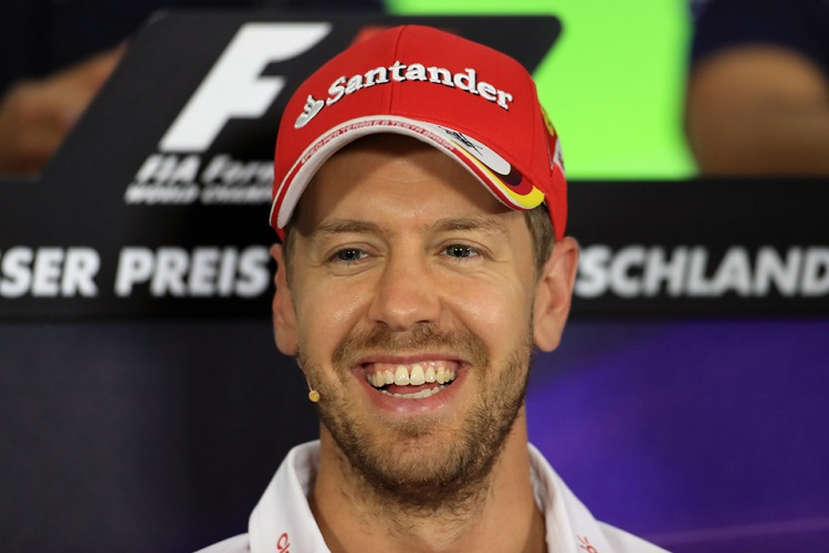 Sebastian Vettel - Credit: Octane Photographic Ltd