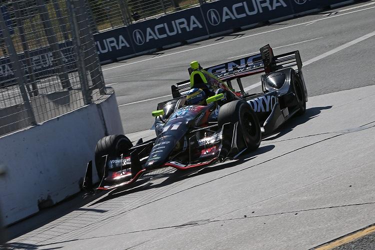 Sebastien Bourdais - Credit: Joe Skibinski / IndyCar
