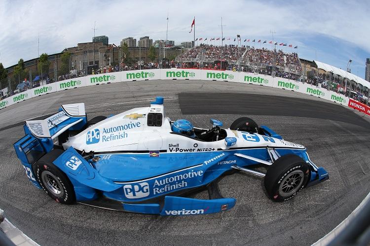 Simon Pagenaud - Credit: Joe Skibinski / IndyCar