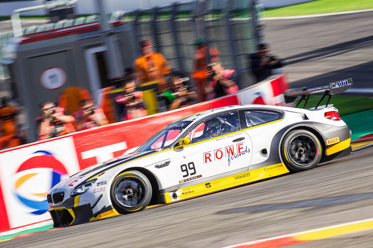 ROWE Racing Spa 24 warm up