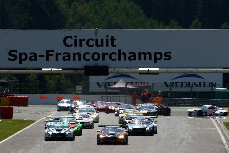 Spa Francorchamps British GT