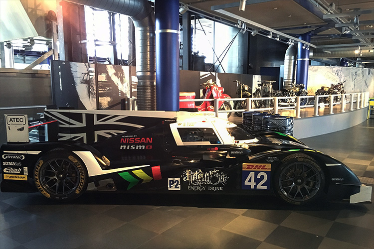 Strakka Thinktank Museum - Credit: Strakka Racing