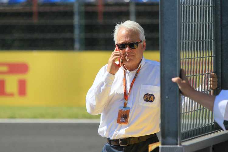 World © Octane Photographic Ltd. Charlie Whiting - FIA F1 Race Director. Thursday 21st July 2016, F1 Hungarian GP Paddock, Hungaroring, Hungary. Digital Ref : 1636CB1D5359