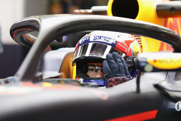 Halo Cockpit Protection Tested By Red Bull At Silverstone