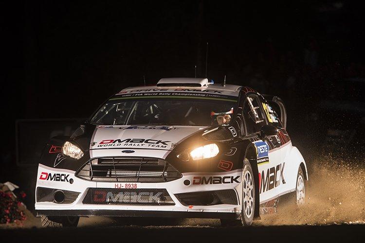 Ott Tanak 2016 Rally Finland SS1 Harju